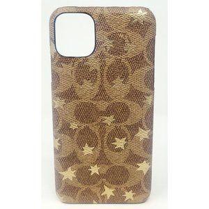 Coach Case for Apple iPhone 11 Pro - Khaki/Gold